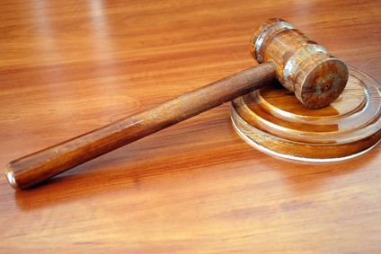 gavel for auctions or sessions
