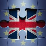 55315001 - european jigsaw puzzle with uk missing piece